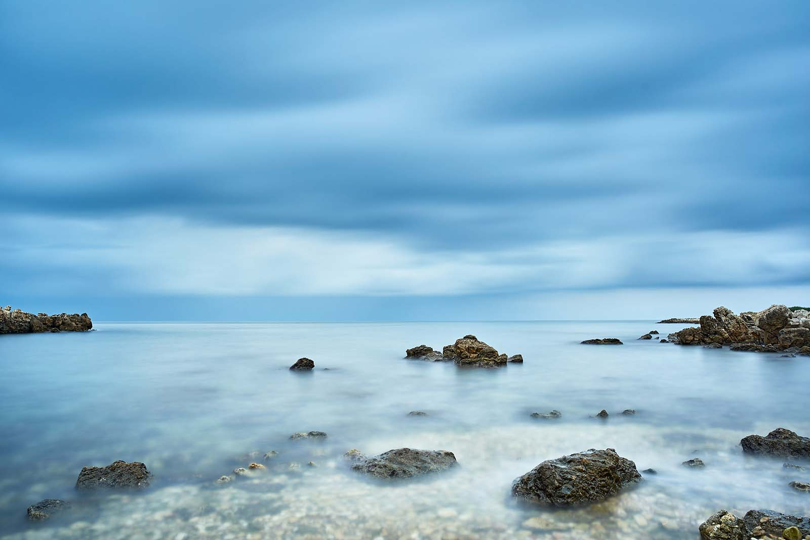 Antibes, Cote d'Azur: Vor dem Sturm. Originalgröße 105x70 cm | © Reinhard Podolsky